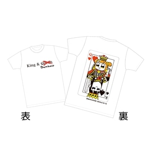 Tシャツ KING&QUEEN S【ポプテピピックPCE】