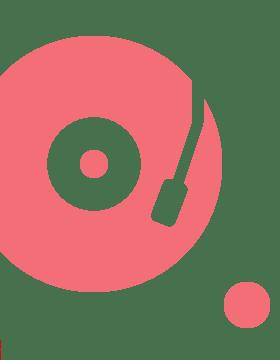 レコード柄