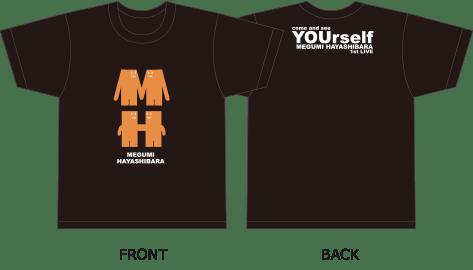MHくんTシャツ(黒)
