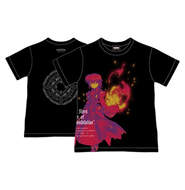 「魔法少女リリカルなのは Reflection」Tシャツ(シュテル)