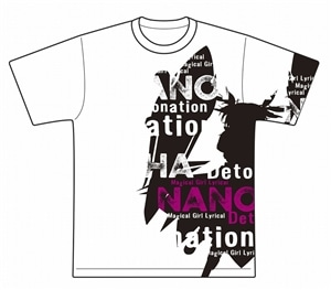 <Mサイズ>Tシャツ2019夏Ver.なのは【2019夏「NANOHA Detonation PROJECT」】