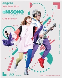 "angela Asia Tour 2019 ""aNI-SONG"" LIVE Blu-ray"